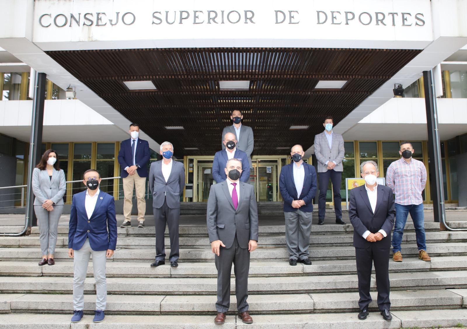 José Manuel Franco asiste a la Junta Directiva de ADESP y traslada a las Federaciones Deportivas Españolas su papel relevante en la nueva fase de reconstrucción