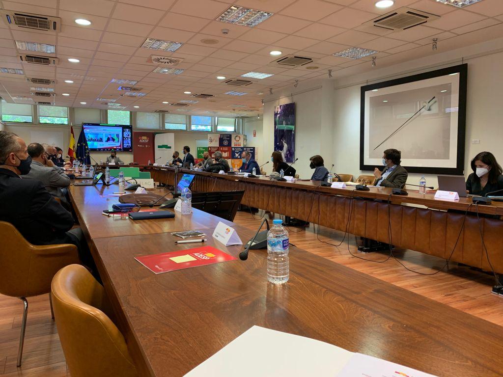 Ultima Asamblea General de ADESP antes de las elecciones a Presidente y Junta Directiva