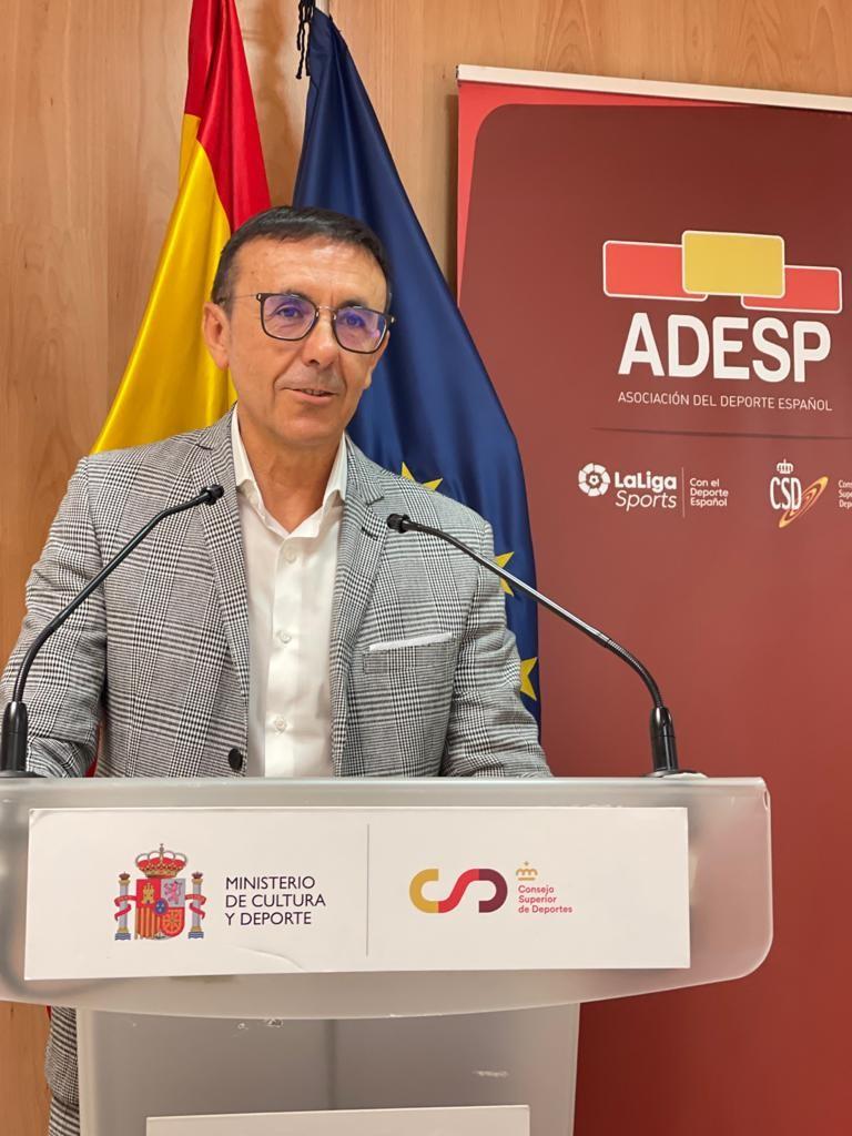 José Hidalgo, reelegido Presidente de la Asociación del Deporte Español para los próximos cuatro años, apuesta por la profesionalización del Deporte Federado en España