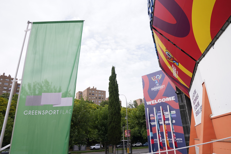 El EuroBasket Femenino 2021, reconocido con la Bandera Verde del Deporte Español, Green Sport Flag, y ejemplo de respeto al medio ambiente
