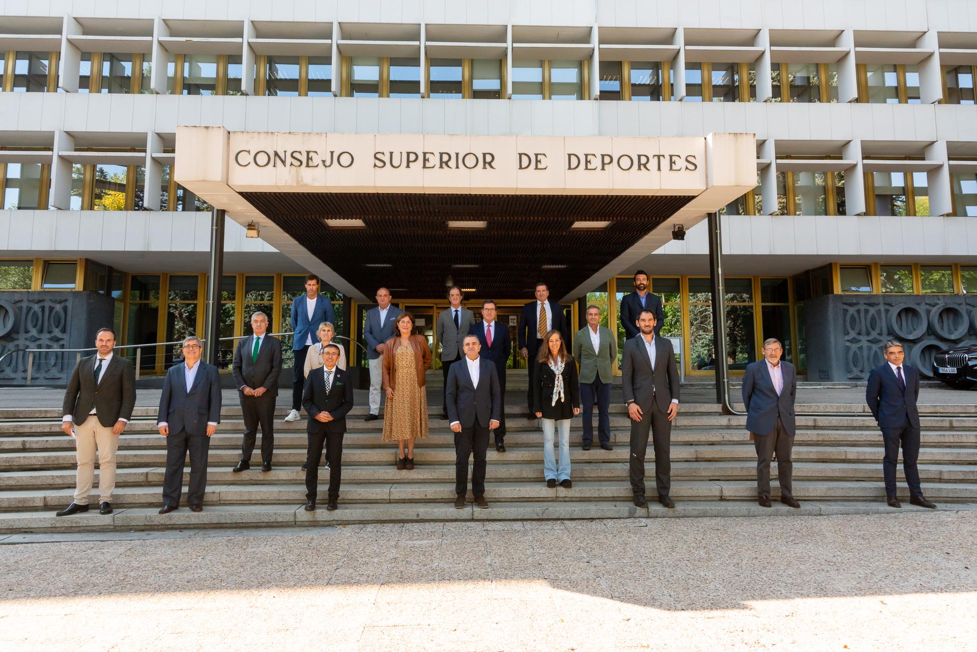 Antonio Garamendi, Presidente de la CEOE, se incorpora como nuevo miembro del Consejo Asesor del Deporte  Español