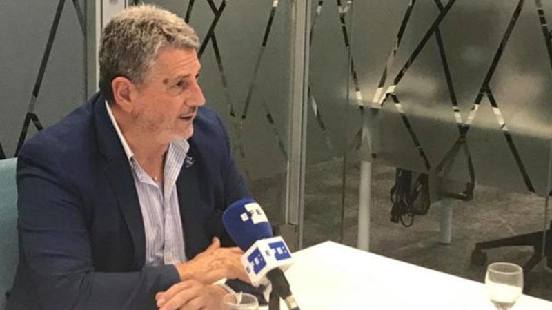 JULIAN GARCÍA ANGULO, PRESENTA EN EFE EL MUNDIAL DE PELOTA DE BARCELONA
