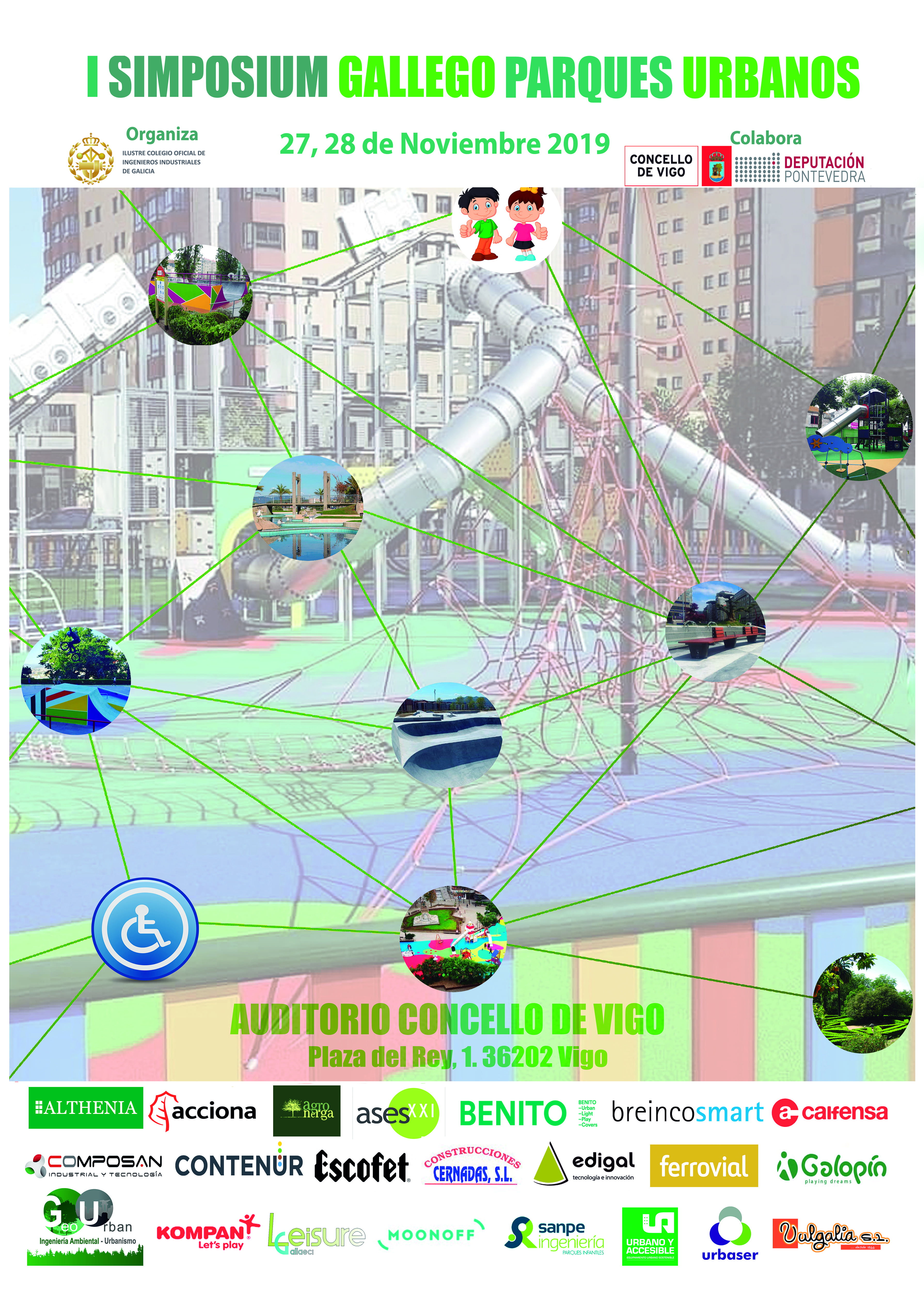 I Simposium Gallego de Parques Urbanos. Vigo 27-8/11/2019