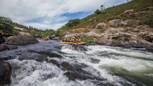 II Edición bajada rafting por el rio Ulla. 20/07/2019