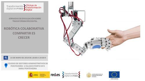 Jornada Robótica Colaborativa. Compartir es crecer Pontevedra 15/05/2019