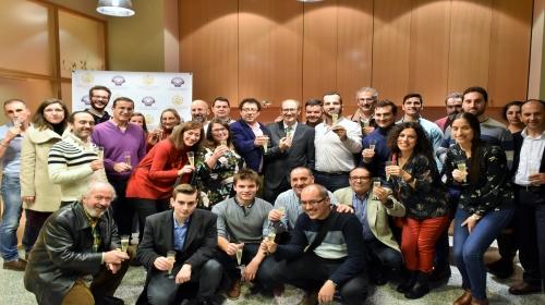 Brindis de la delegación de Santiago de ICOIIG