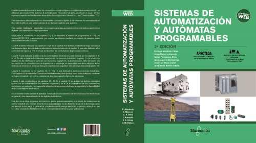 Presentación libro. Sistemas de automatización y autómatas programables. 20/03/2018