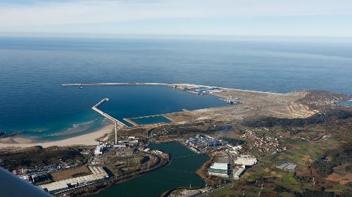 Visita guiada al Puerto Exterior de A Coruña. 17/03/2018