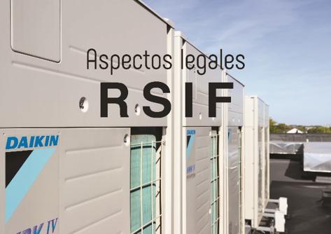 Jornada Técnica sobre aspectos legales del nuevo RSIF y su repercusión en las instalaciones térmicas de climatización. 27/02/2020