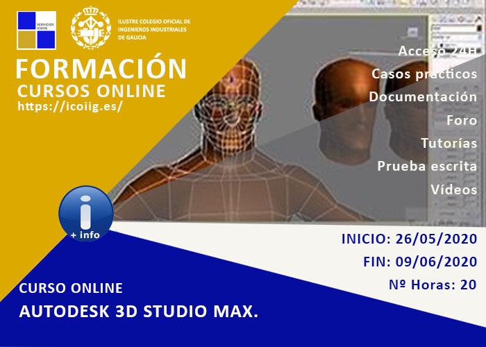 Curso online autodesk 3D studio max. 26/05/2020