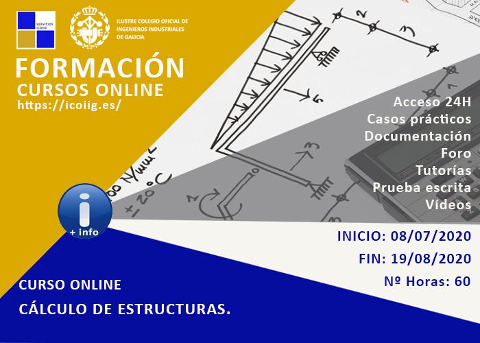 Curso online de cálculo de estructuras. 08/07/2020