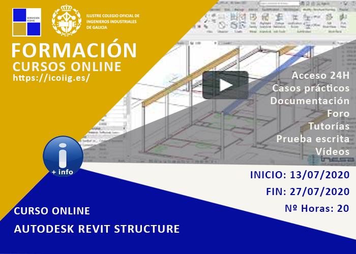 Curso online Autodesk Revit Structure.13/07/2020