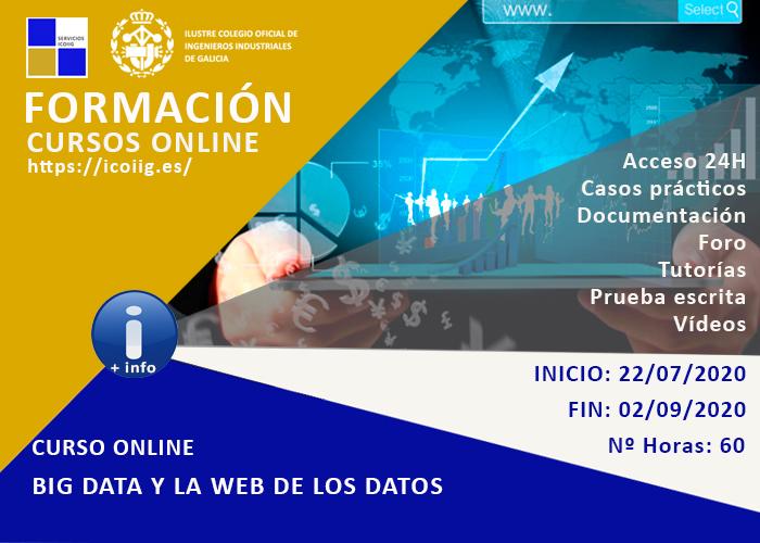 Curso Online Big Data y la web de los datos. 22/07/2020