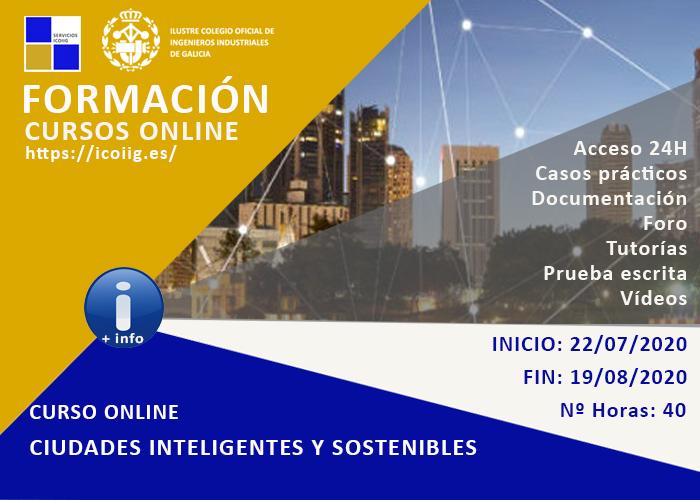 Curso Online ciudades inteligentes y sostenibles. 22/07/2020