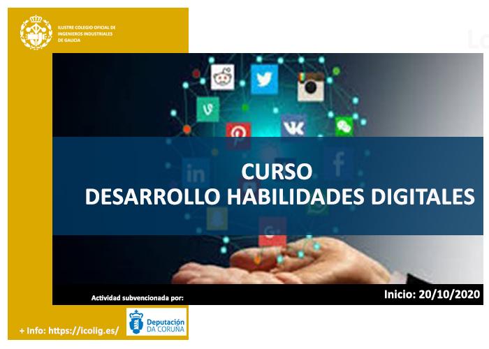 Curso online Desarrollo de habilidades digitales-nivel intermedio 20/10/2020