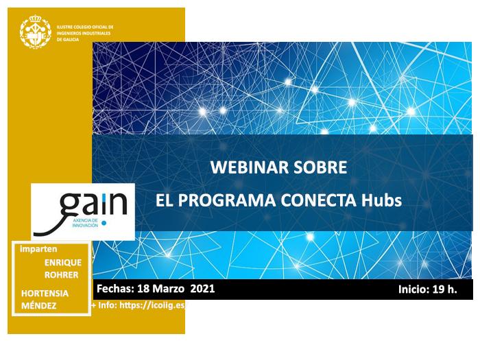 Webinar sobre el Programa CONECTA Hubs.18/03/2021