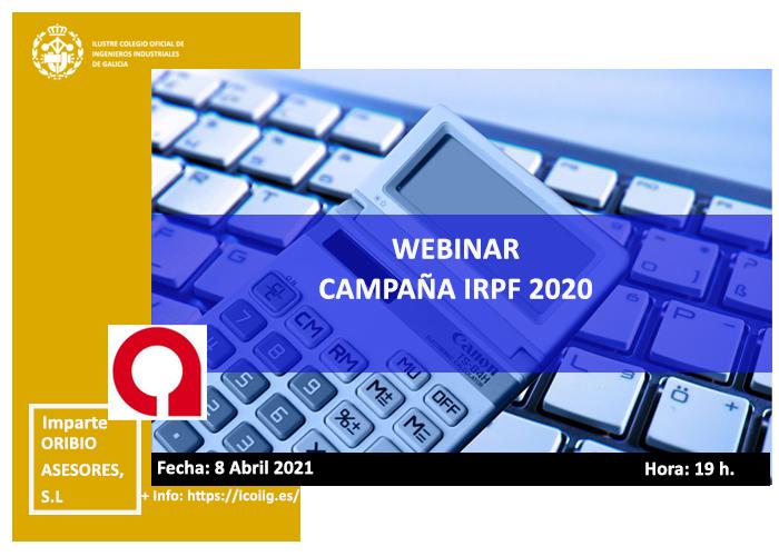 Webinar sobre  campaña IRPF 2020