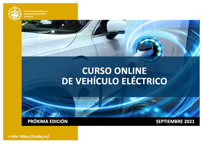 4º Edición del curso online vehículo eléctrico. Septiembre 2021