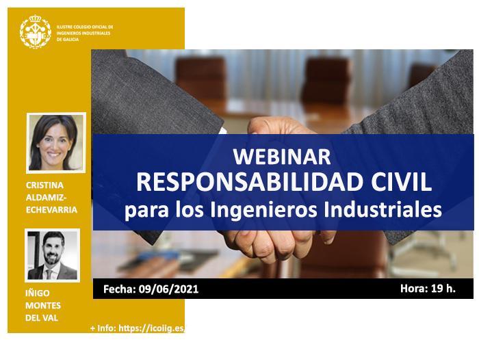 Webinar Responsabilidad Civil para los Ingenieros Industriales| ICOIIG