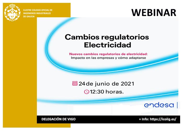 Webinar sobre los cambios regulatorios en la electricidad | ICOIIG