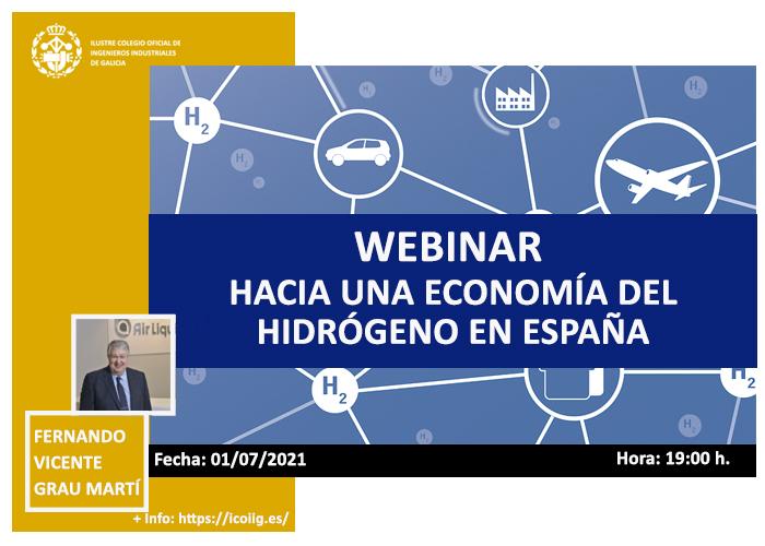 Webinar hacia una economía del hidrógeno en España| ICOIIG