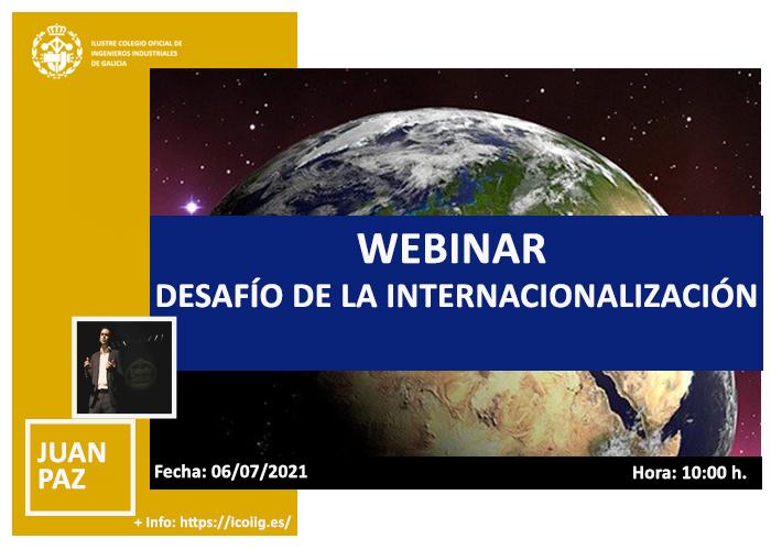 Webinar desafío de la internacionalización | ICOIIG