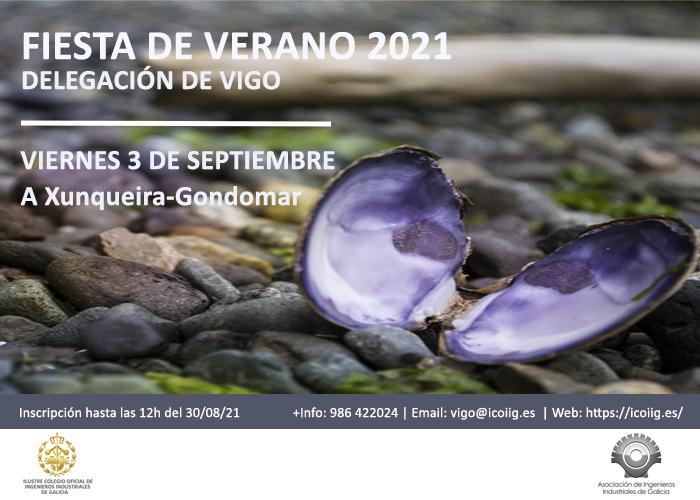 Fiesta de Verano 2021 - Delegación de Vigo  | ICOIIG