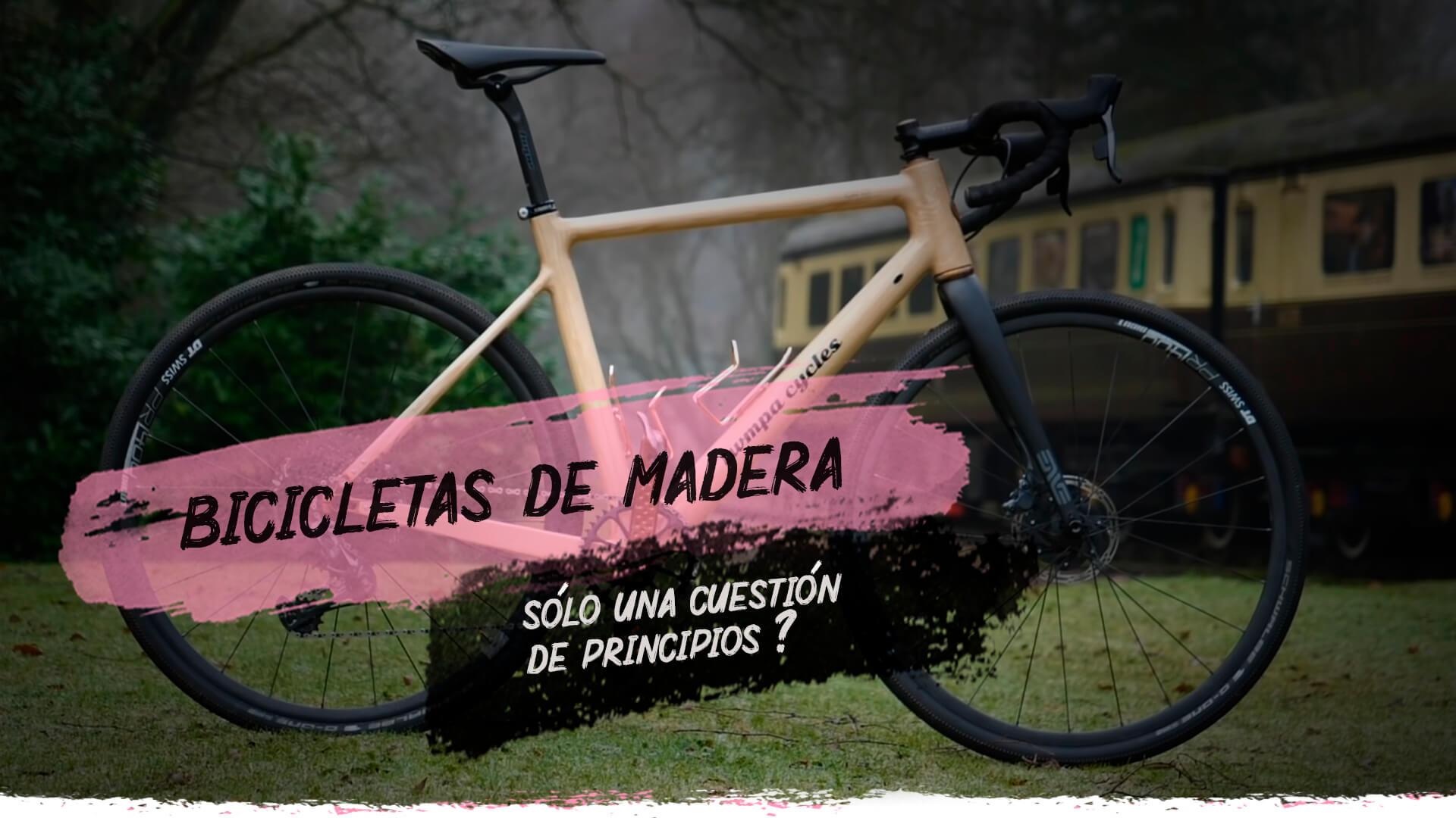 BICICLETAS DE MADERA, UNA OPCIÓN REAL?