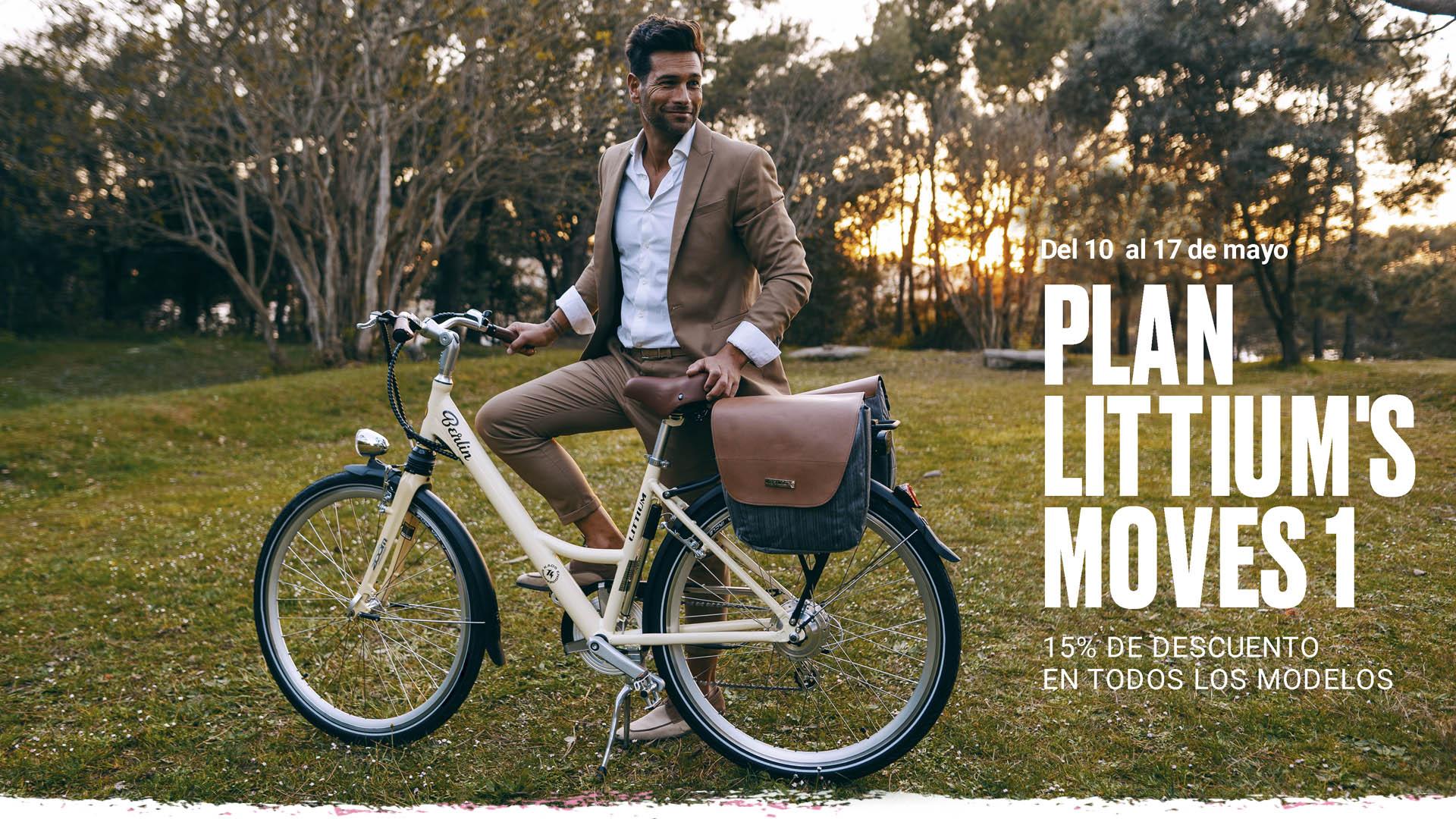 LITTIUM, EL FUTURO DE LA MOVILIDAD ELÉCTRICA SE INCORPORA A LAFUGA CYCLING