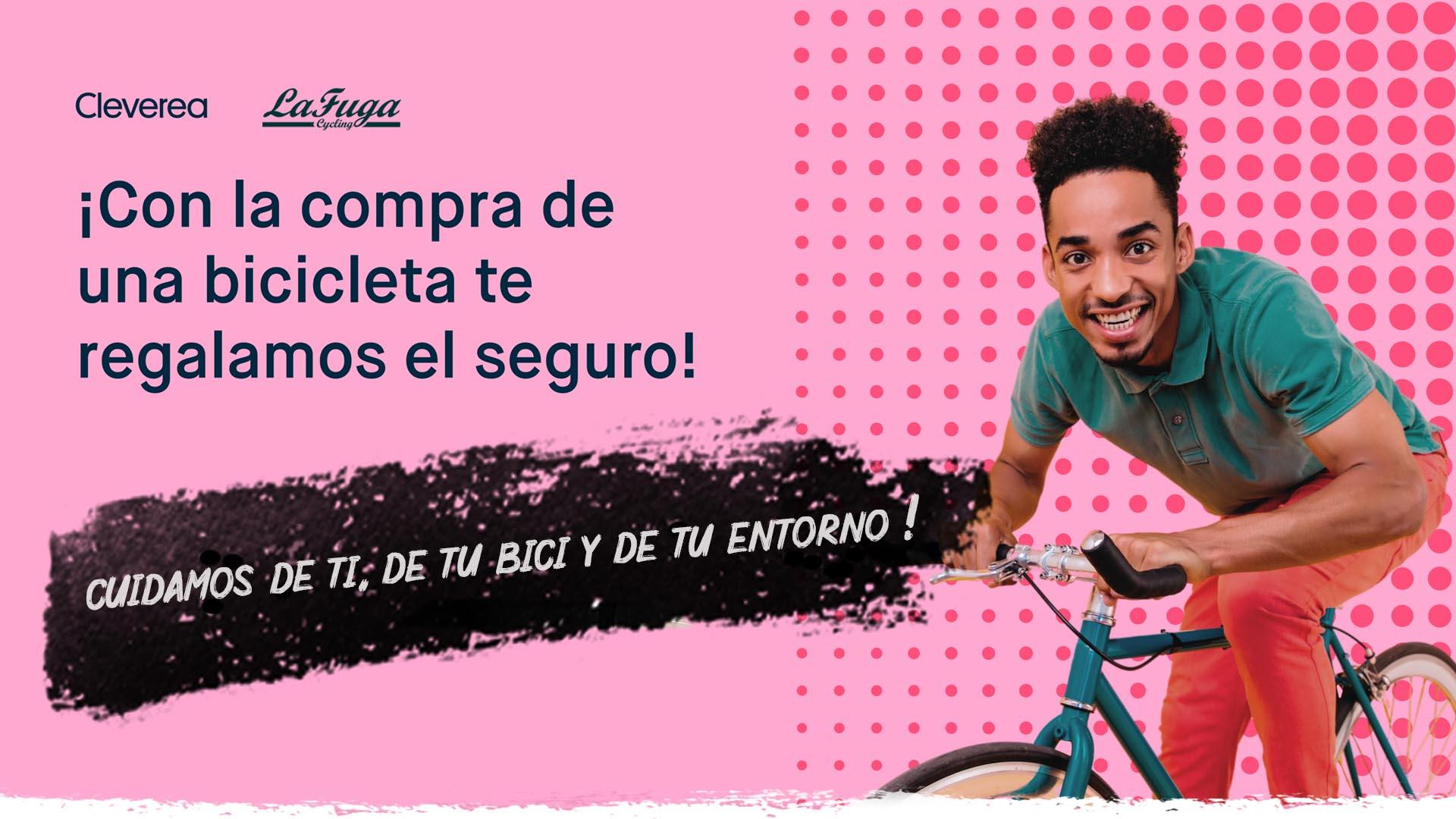 LaFuga Cycling regalará un seguro por la compra de una bicicleta