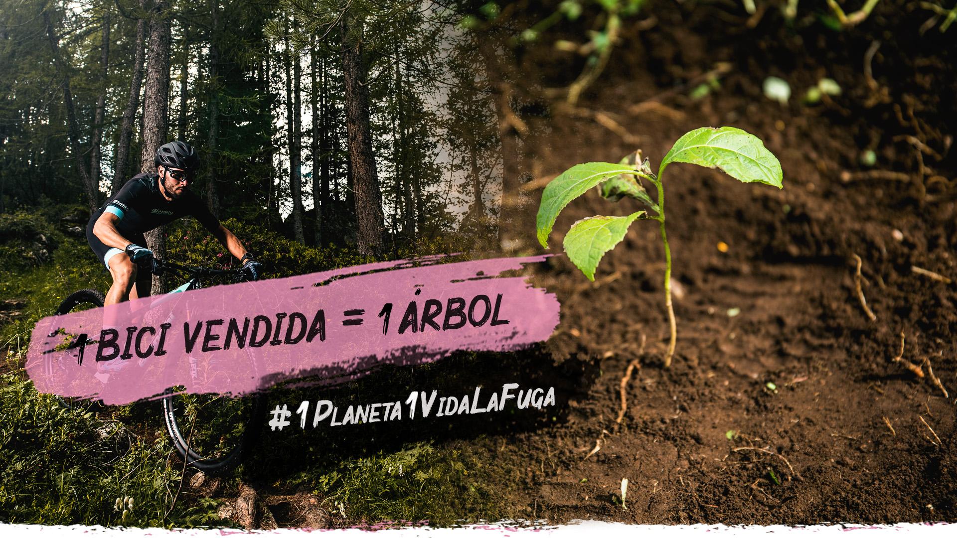 LaFuga Cycling plantará un árbol por cada bicicleta que se venda en cualquiera de sus tiendas y su página web