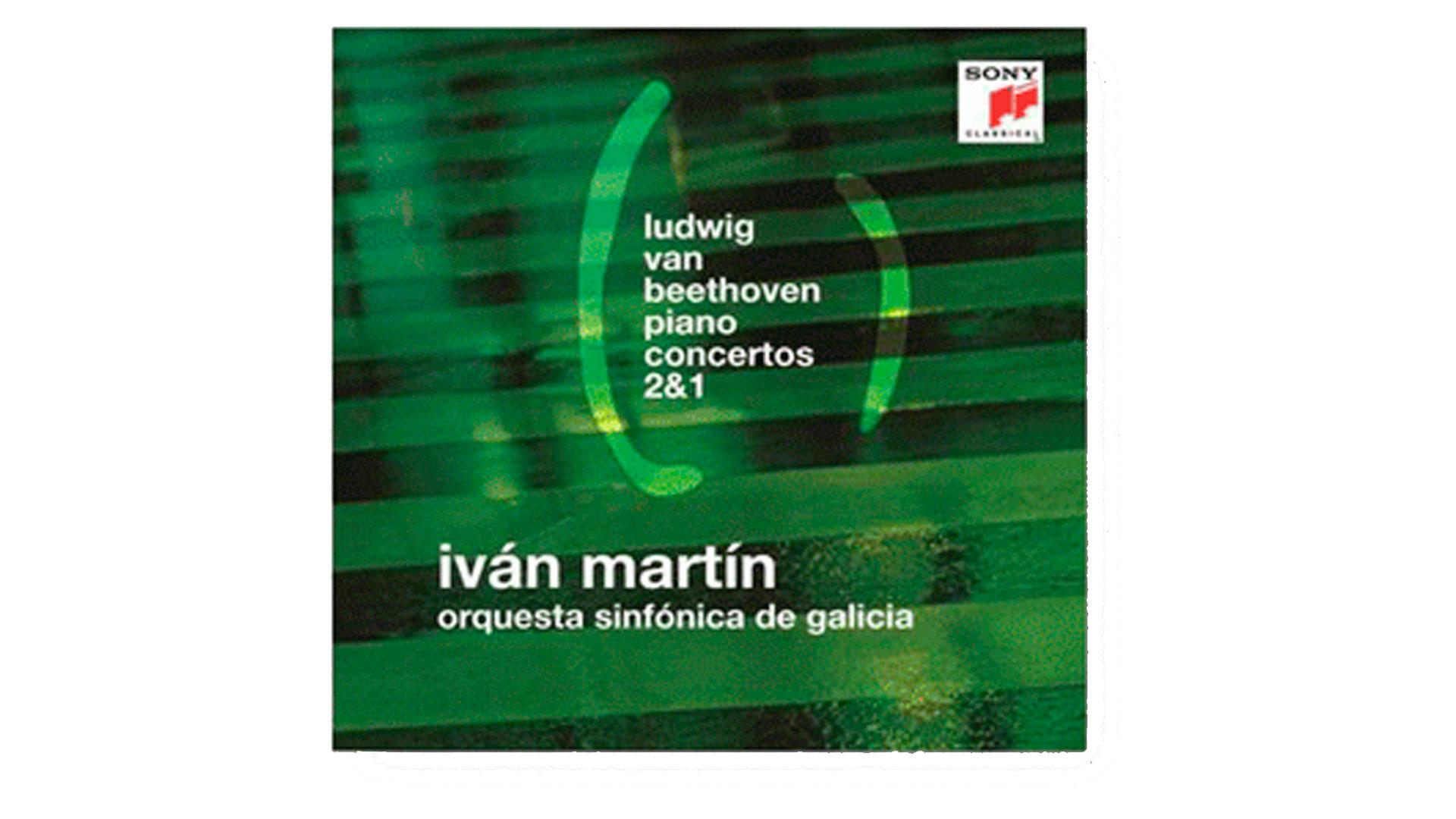 La Orquesta Sinfónica de Galicia entra en el catálogo de Sony con un disco dedicado a los conciertos nº 1 y 2 de Beethoven con Iván Martín como solista y director
