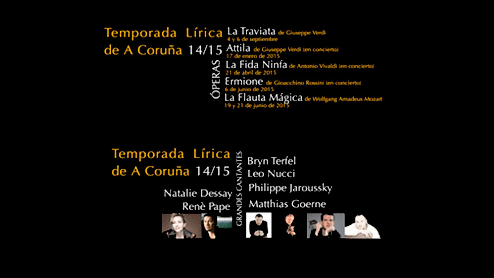 """Ya a la venta las entradas para """"La Traviata"""" y los espectáculos del Ciclo de Otoño de la Temporada Lírica 14-15"""