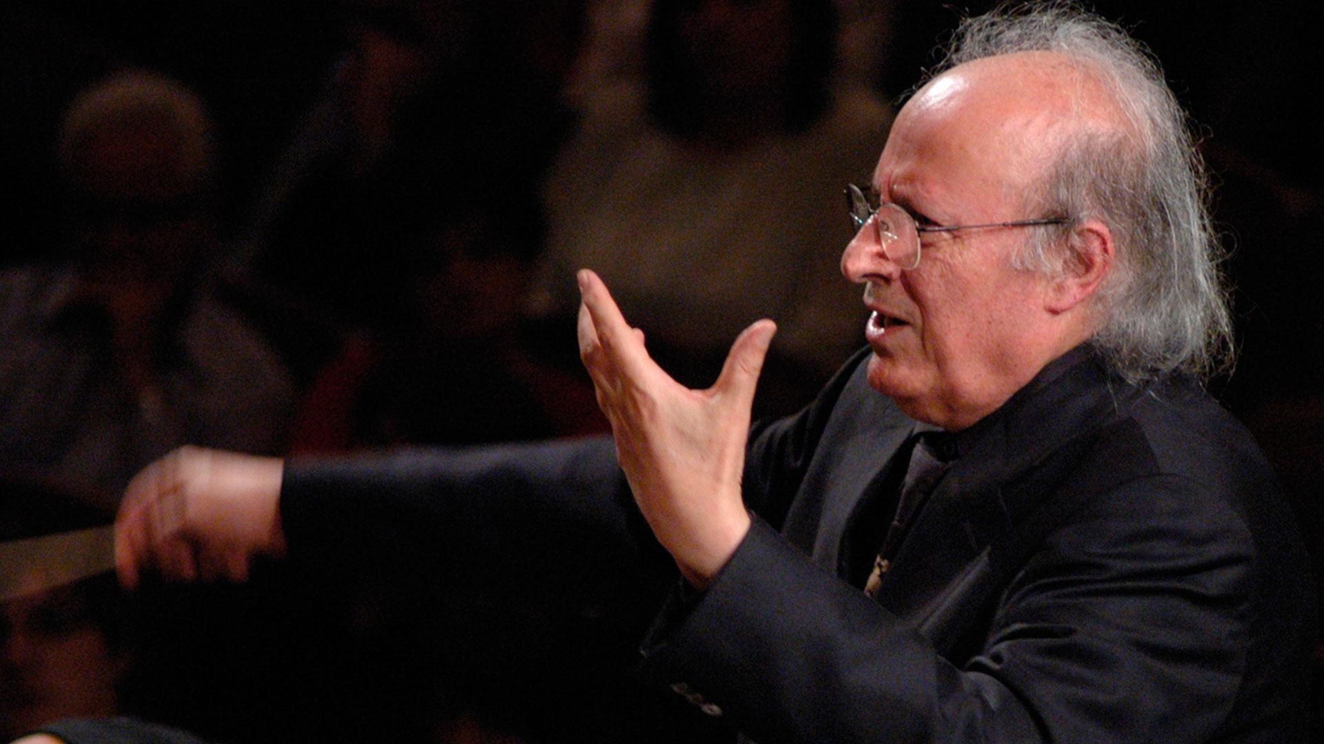 """Eliahu Inbal interpreta con la OSG a Mozart, Bartók y Dvorák tras su imponente """"Tristán"""" con el conjunto orquestal"""