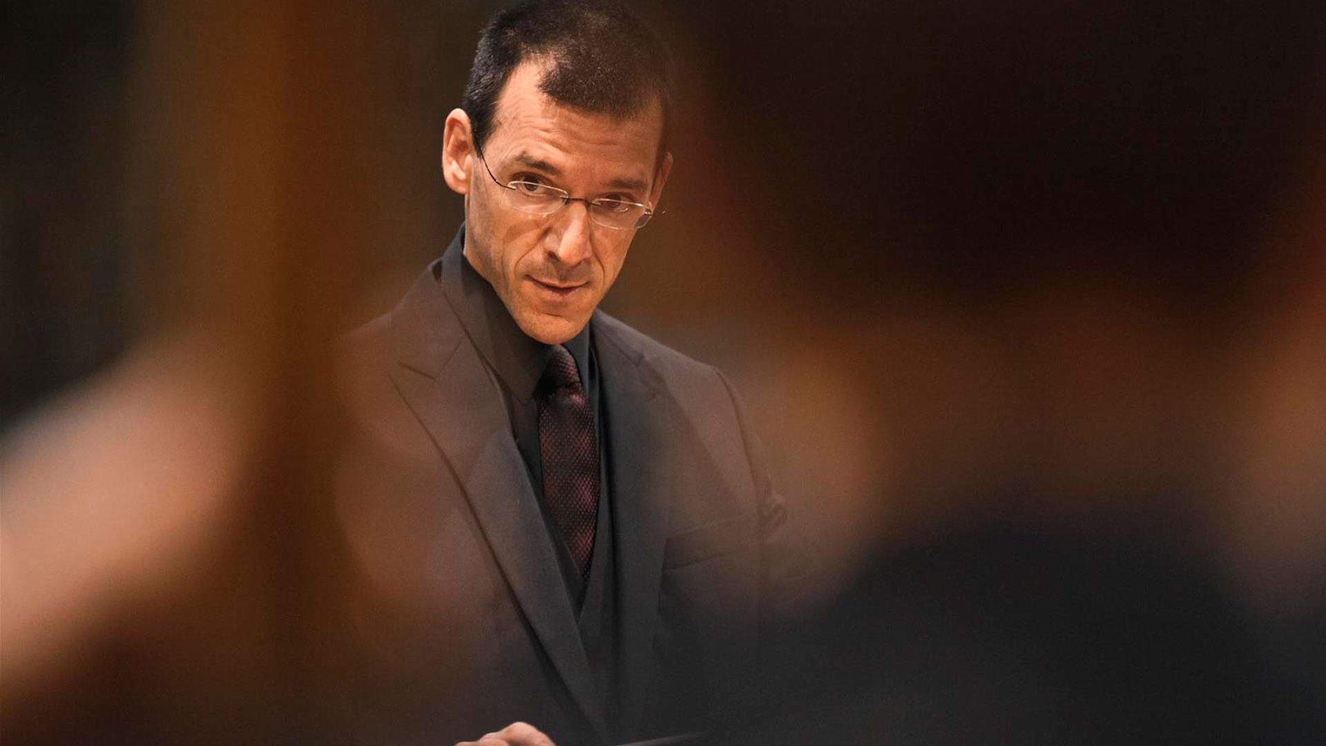 """El compositor Xavier Pagès i Corella, premio Andrés Gaos de la Diputación de A Coruña por su obra """"Desde el fondo del espejo"""""""