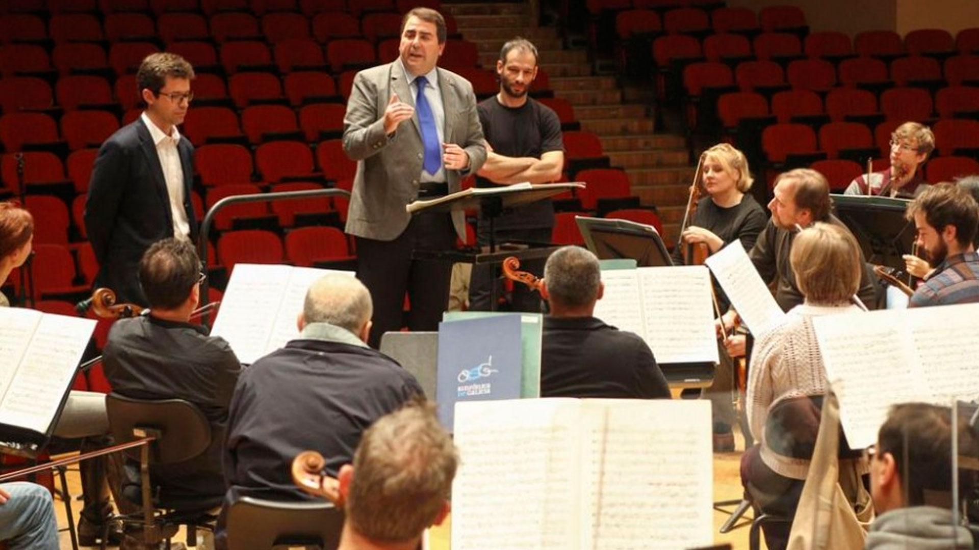 El Consorcio para la Promoción de la Música y Fundación Repsol renuevan su compromiso con las actividades de la Orquesta Sinfónica de Galicia