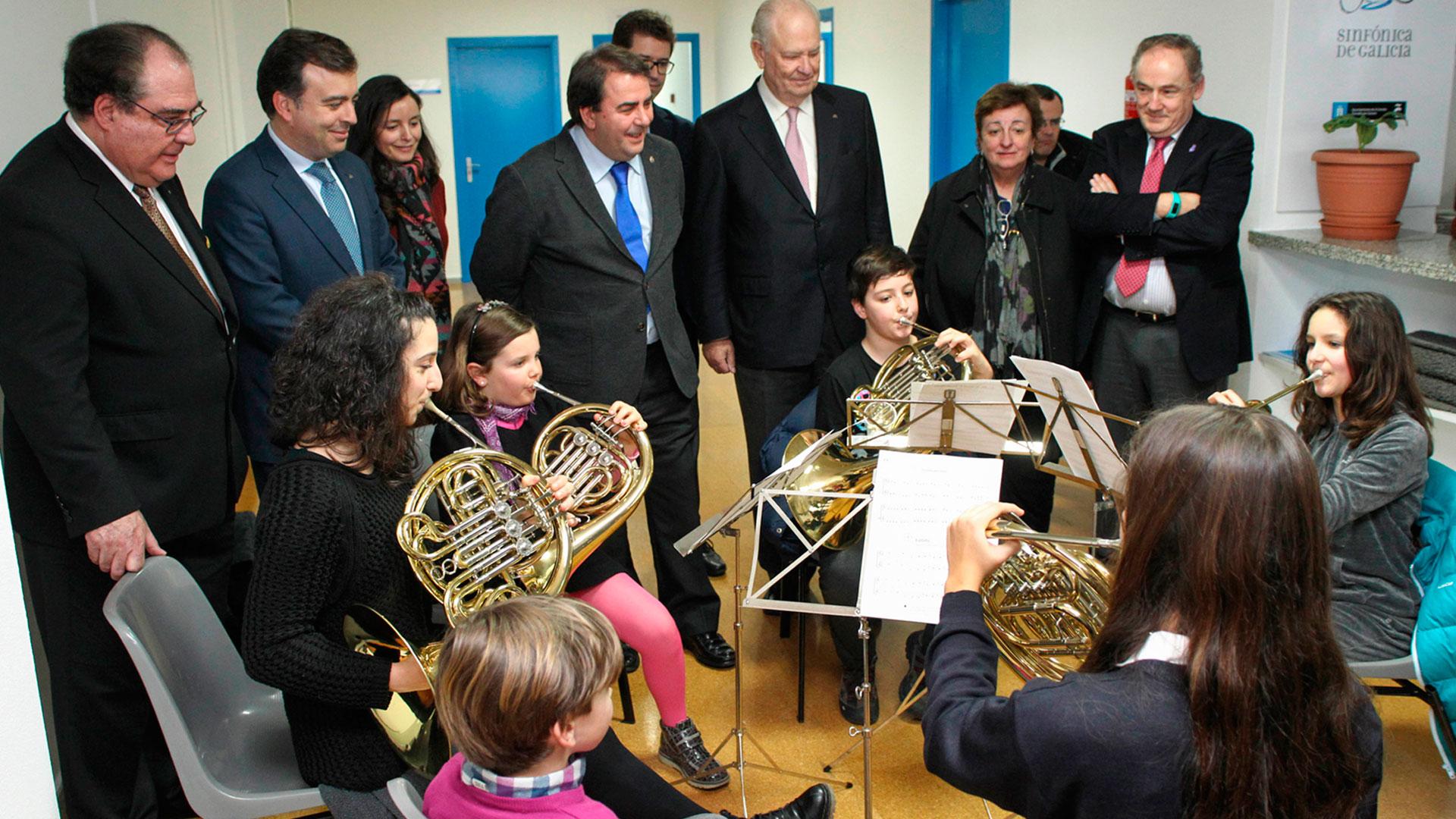ReSuena retoma sus actividades con un concierto con obras de Vivaldi, Haydn y Mozart en el Centro Oncológico de Galicia, en A Coruña