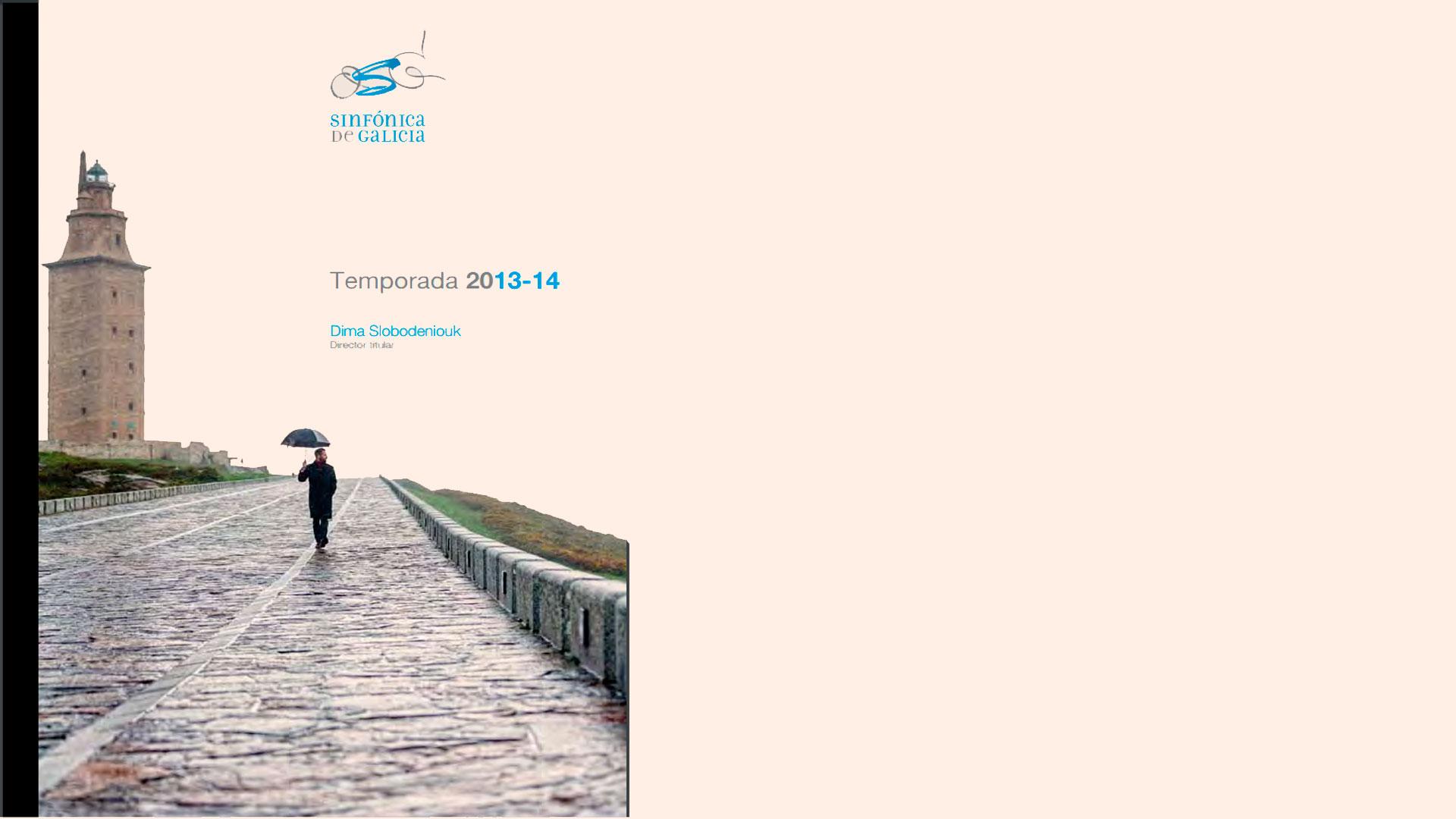 La Orquesta Sinfónica de Galicia dedicará más de un tercio de su programación a incorporar obras de los siglos XIX y XX a su repertorio en la primera temporada bajo la dirección titular de Dima Slobodeniouk