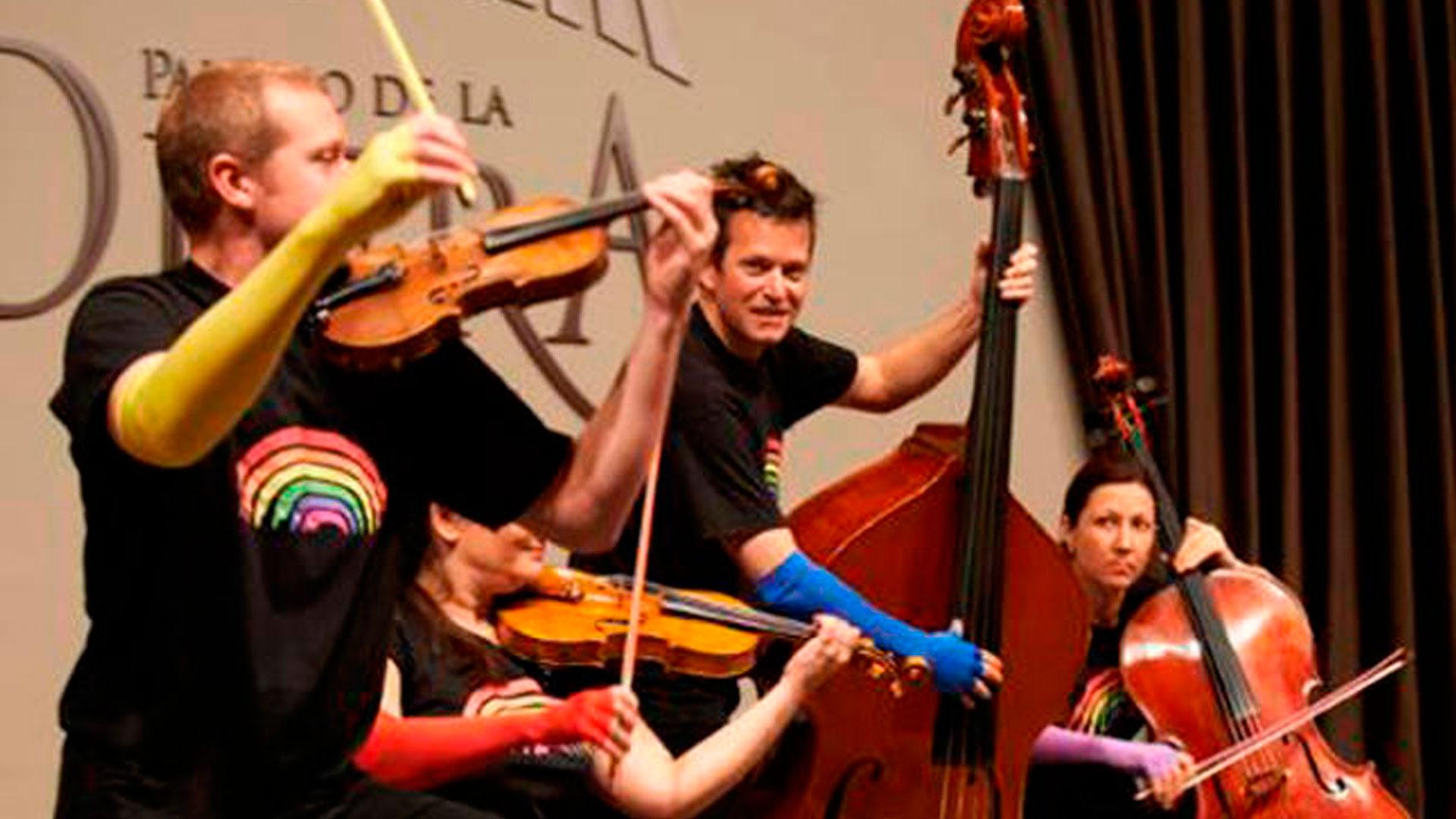"""Arcos Iris ofrece el concierto en familia """"Los colores de las cuerdas"""" con música desde lo clásico hasta el jazz"""