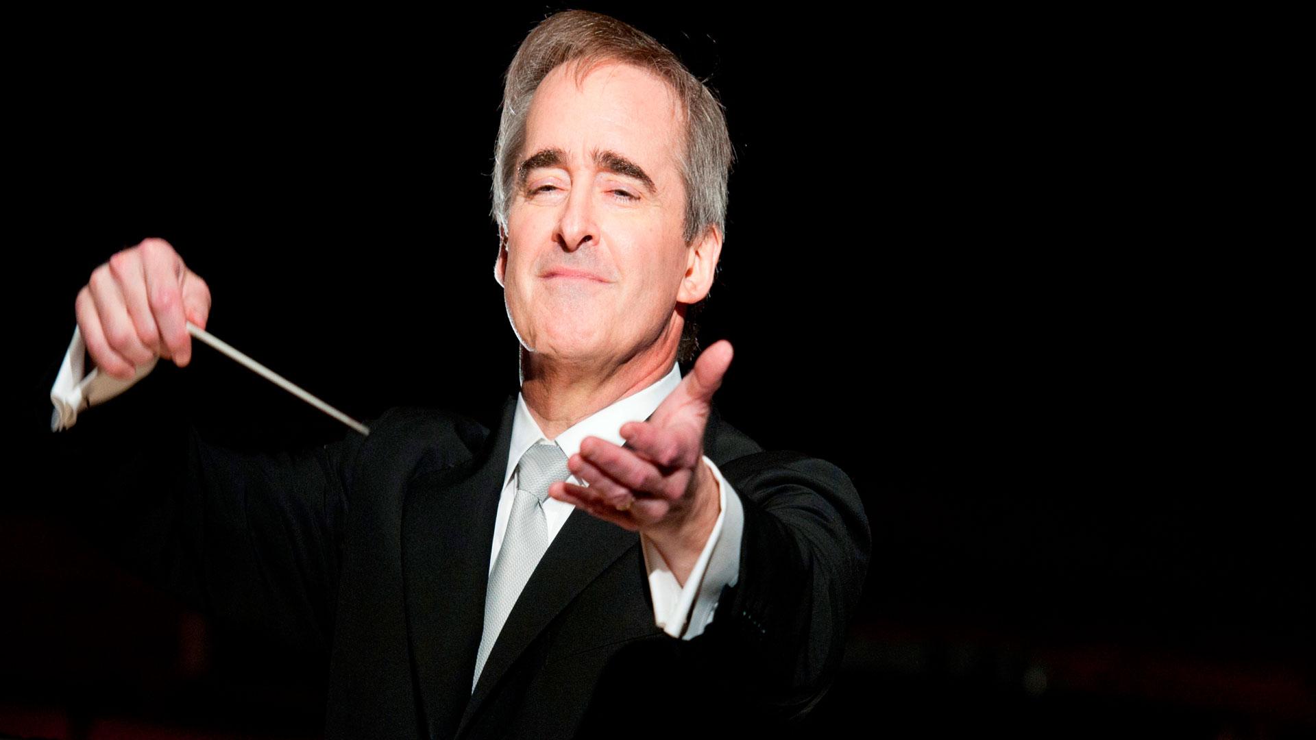 El director de la Ópera de Los Ángeles, James Conlon, dirige la Sinfónica de Galicia en su primer concierto en A Coruña