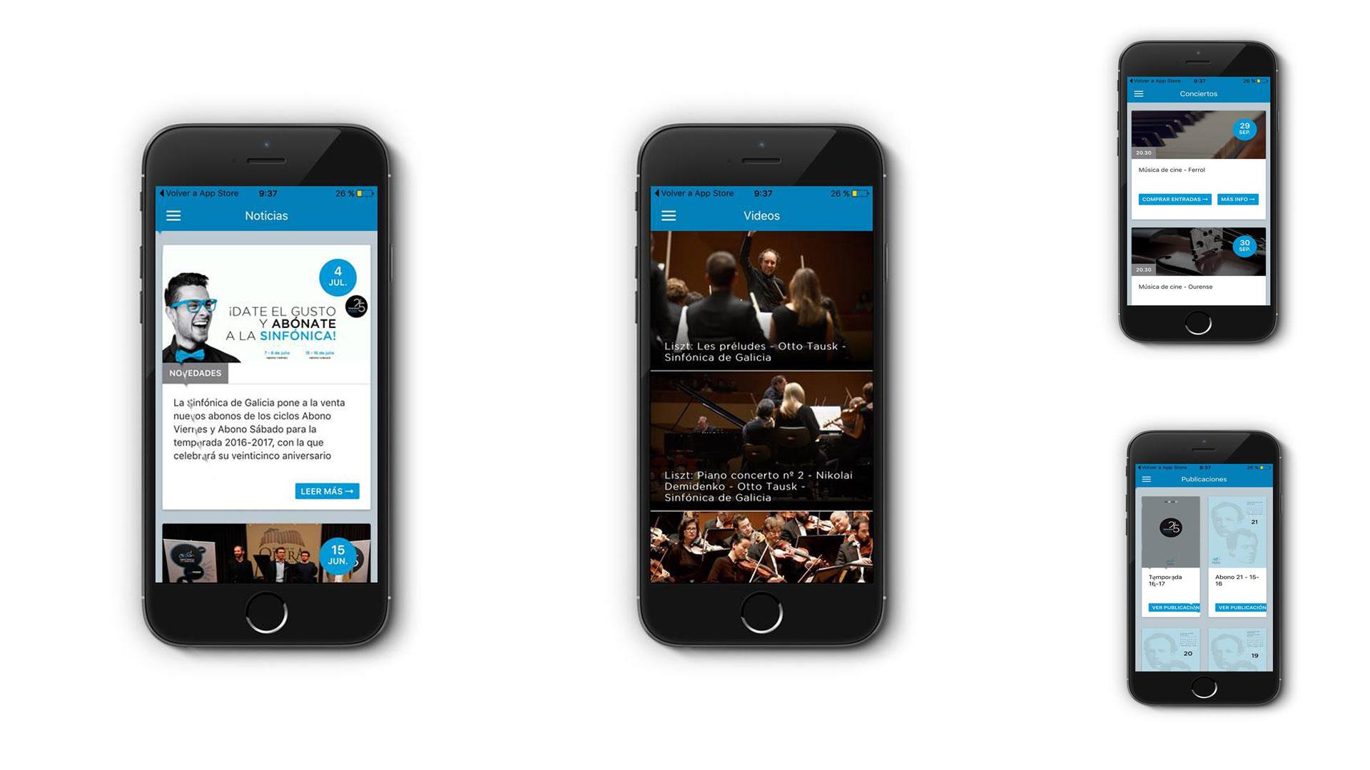 Nueva App de la OSG para dispositivos iOS y Android