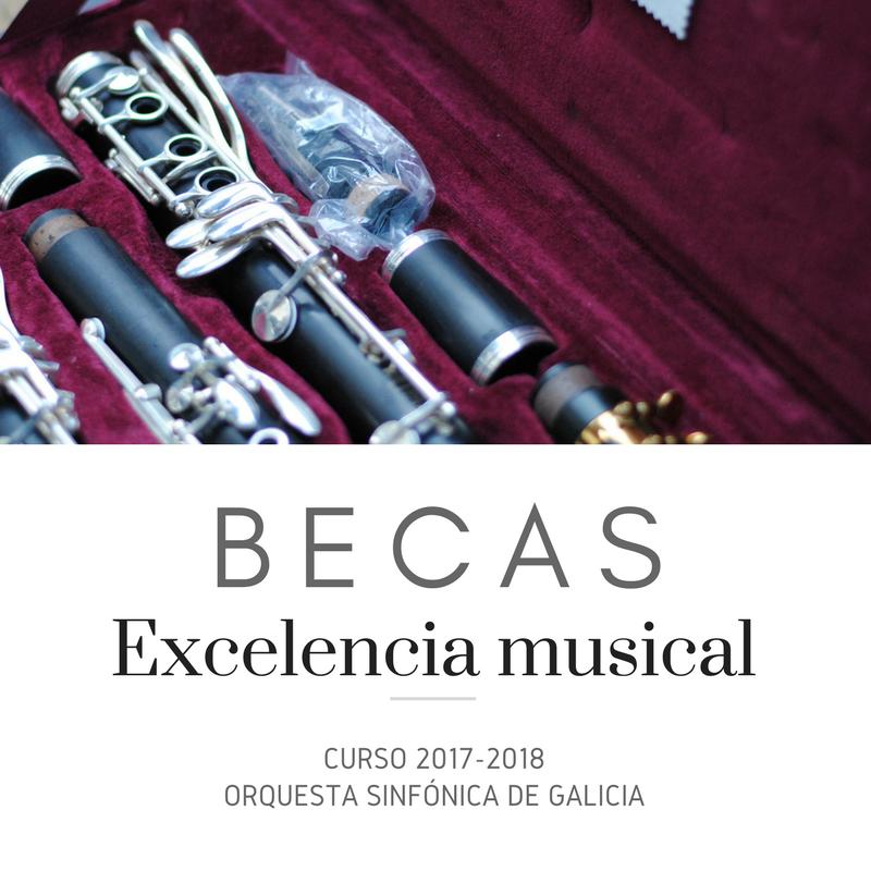 El Consorcio para la Promoción de la Música convoca sus Becas de Excelencia Musical para el curso 2017-2018