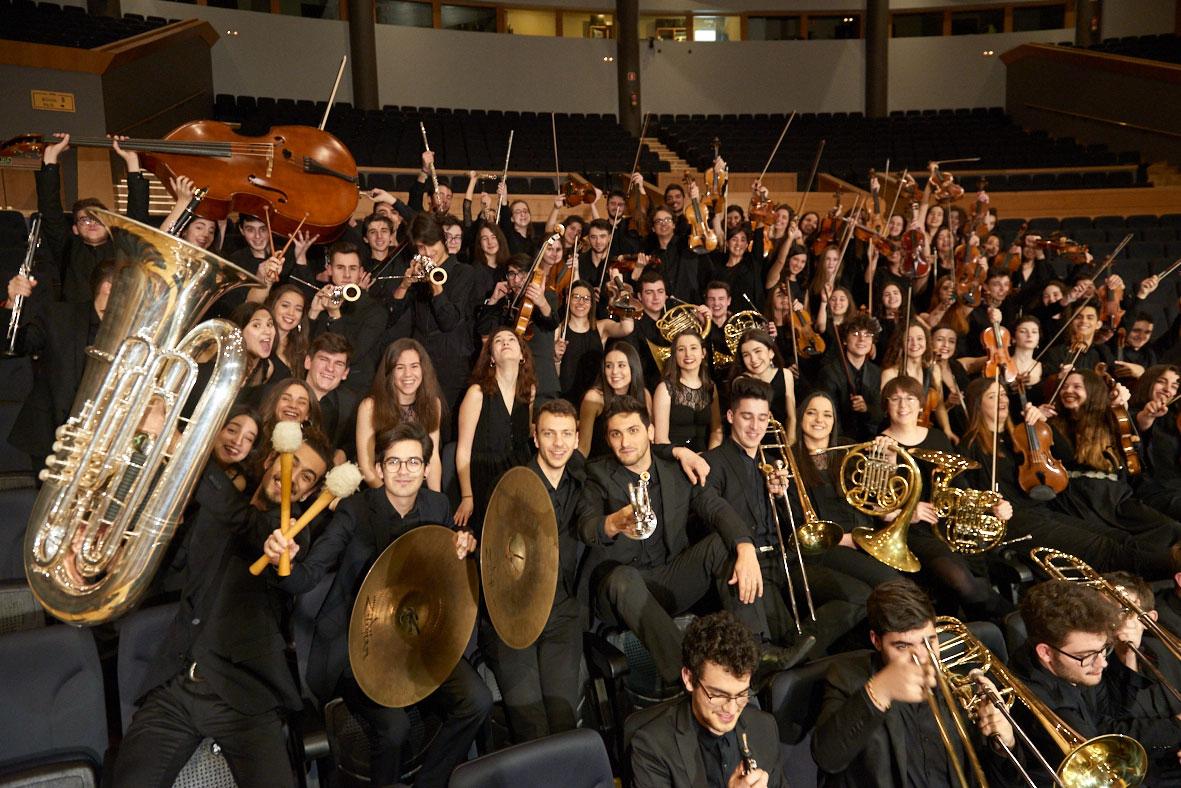 La Orquesta Joven de la OSG participa en el Concierto de las Velas de Pedraza
