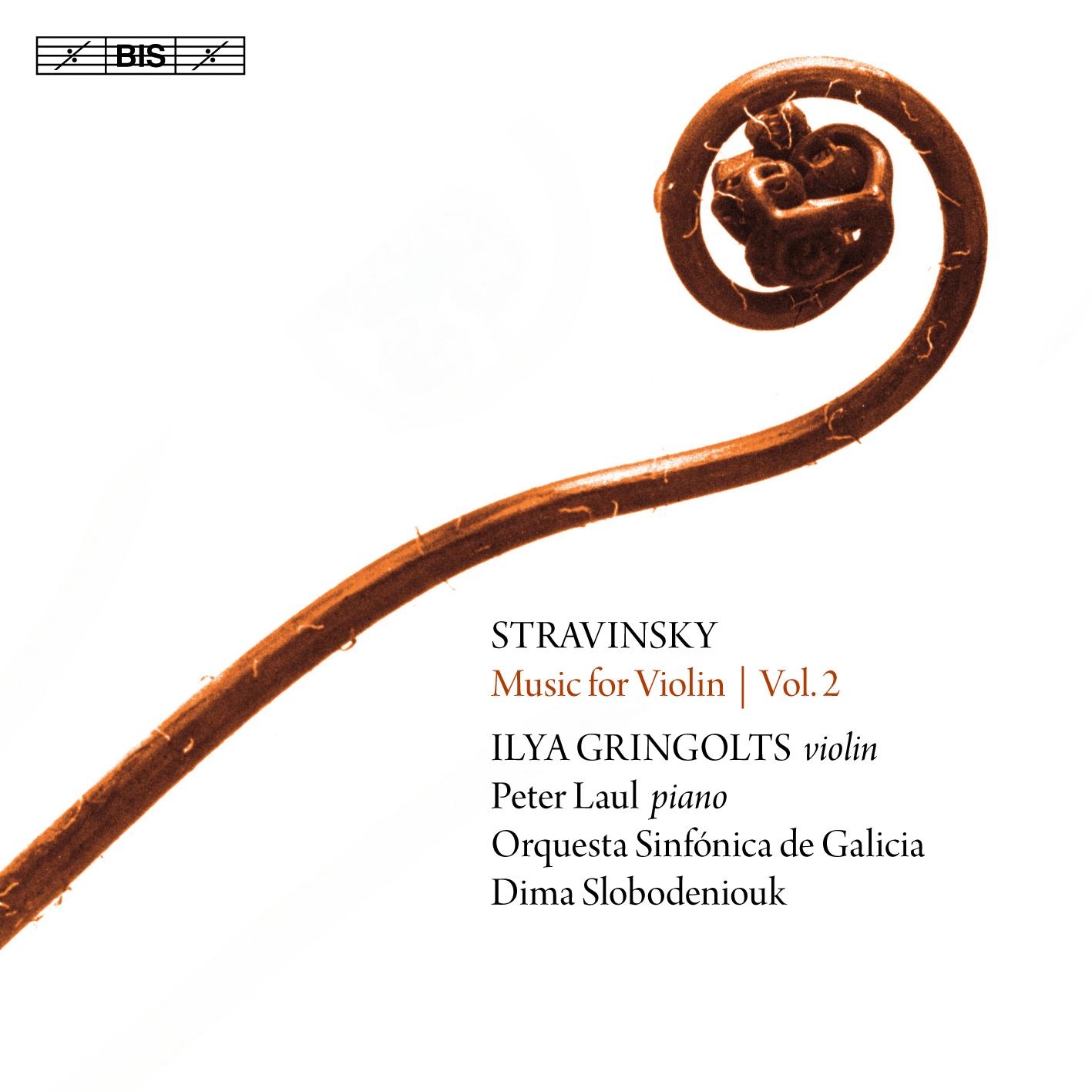 La OSG entra en el catálogo de BIS Records con música de Stravinski con Gringolts y Slobodeniouk