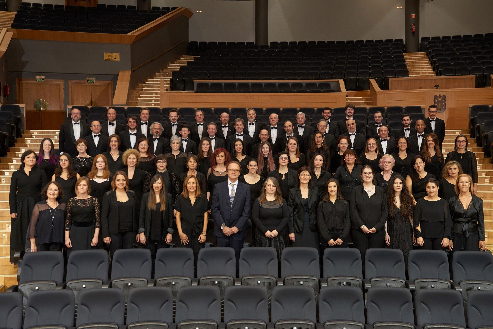 El Coro de la OSG canta El holandés errante, de Wagner, en versión de concierto