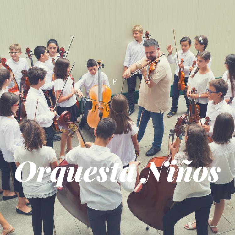 La Orquesta de Niños de la OSG convoca pruebas de acceso