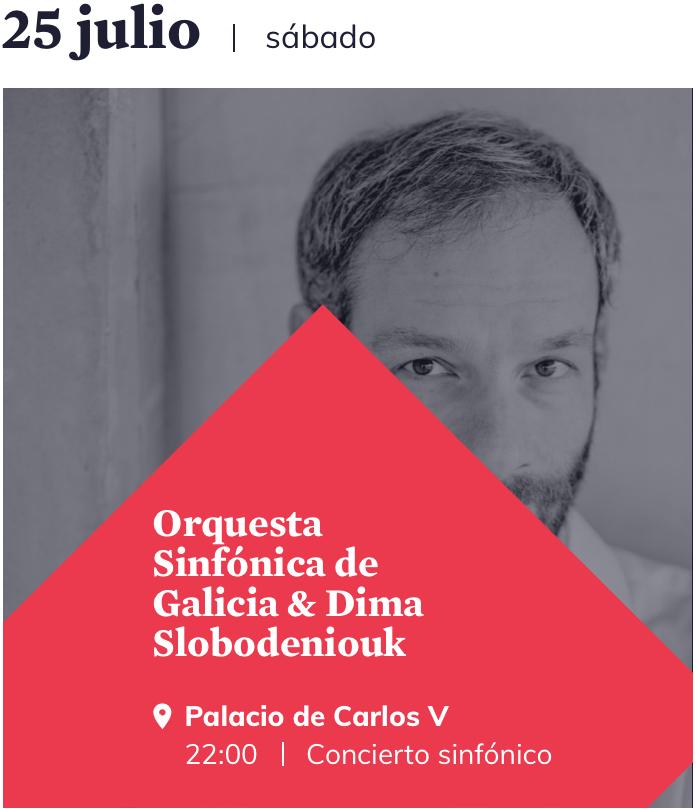 La OSG en el Festival de Granada