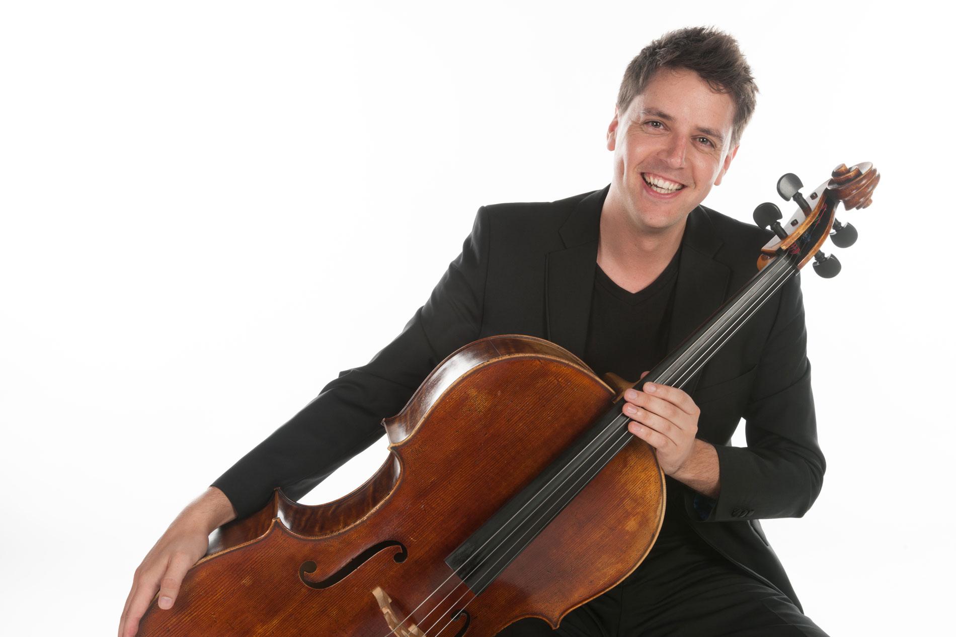 Raúl Mirás, nuevo violonchelo principal de la OSG