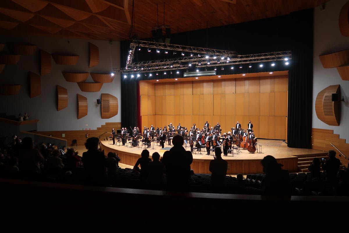 La OSG se reencuentra con su público en el Palacio de la Ópera
